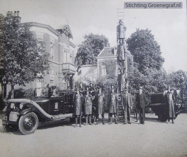 Brandweer Baarn, ingebruikname ladderwagen